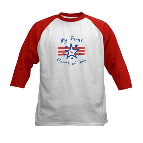 My First Fourth Kids Baseball Jersey