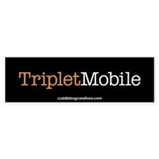 Triplet Mobile (O)- Bumper Bumper Sticker