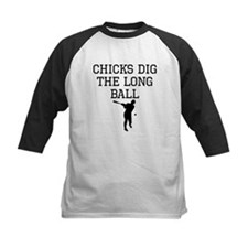 Chicks Dig The Long Ball Baseball Jersey