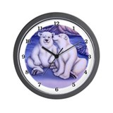 Polar Attraction Wall Clock