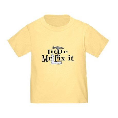 Little Mr Fix It Toddler T-Shirt