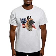 Malinois Flag T-Shirt