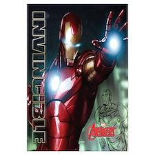 Avengers Invincible Iron Man Wall Art