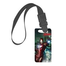Avengers Invincible Iron Man Luggage Tag