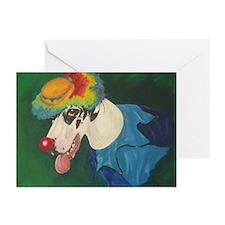 Harlequin Clown Cards (10 Pk)