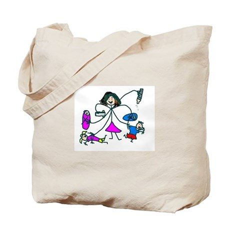 Mother Arm Evolution Tote Bag
