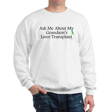 Ask Me Grandson Liver Sweatshirt