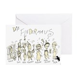 Die Fledermaus: Greeting Cards (Pk of 10)