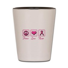 PeaceLoveHope.PNG Shot Glass