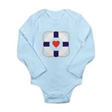 Heart Life Preserver Body Suit