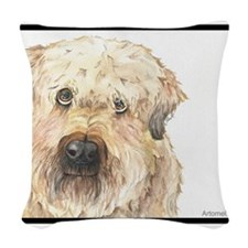 Riley the People Pack Pooch Woven Throw Pillow