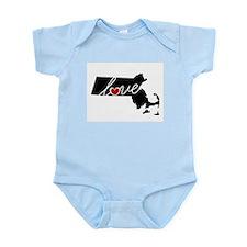 Massachusetts Love Infant Bodysuit