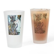 Dulac Mermaid Treasure Drinking Glass