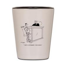 Golf Cartoon 5491 Shot Glass