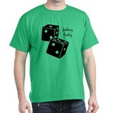 Lucky Dice Tee-Shirt - black dice