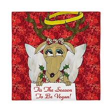 Vegan Reindeer Angel Queen Duvet