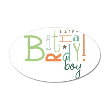 Birthday Boy! Wall Decal