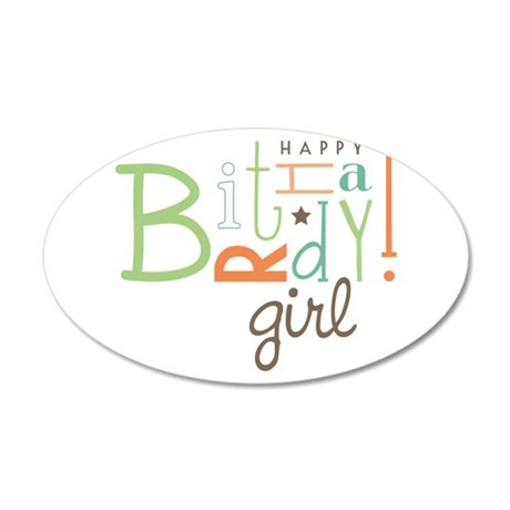 Birthday Girl! Wall Decal