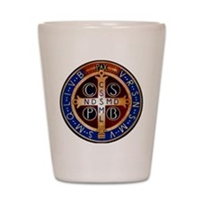 Benedictine Medal Shot Glass