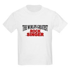 """The World's Greatest Rock Singer"" T-Shirt"
