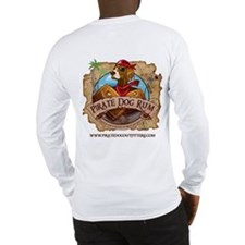 Pirate Dog Rum Long Sleeve T-Shirt