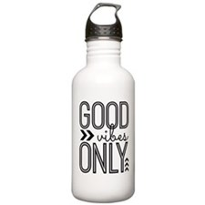 Good Vibes Only Sports Water Bottle