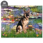 5,5x7,5-Lilies2-G-Shep2.PNG Puzzle
