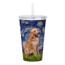 Starry - Golden 1 Acrylic Double-wall Tumbler