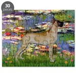 5.5x7.5-Lilies2-GDane-fawnstnd.png Puzzle