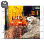 Great Pyrenees 2 - Terrace Cafe.png Puzzle