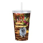 The Path - Keeshond (F).png Acrylic Double-wall Tu