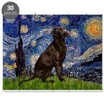 Starry - Choc Labrador Puzzle