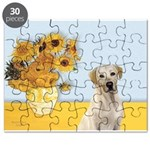 Sunflowers-YellowLab7.png Puzzle