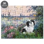 Lhasa Apso 2 - By the Seine.png Puzzle