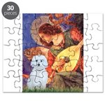 Mandolin Angel / Maltese (B) Puzzle