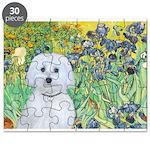Irises / Maltaese (B) Puzzle