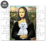 Mona Lisa / Maltese (B) Puzzle
