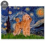 Poodle (Apricot 9) - Starry Night.png Puzzle