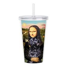 2-Mona Lisa-PWD 5.png Acrylic Double-wall Tumbler