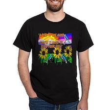 3-Bird n Hand 4 PNG T-Shirt