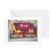 Cafe le Terminus, 2010 - Greeting Cards (Pk of 20)