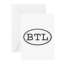BTL Oval Greeting Cards (Pk of 10)