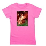 Rhodeisn Ridgebak 2 - Seated Angel.png Girl's Tee