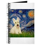 Scottish Terrier (W5) - Starry Night (squar.png Jo
