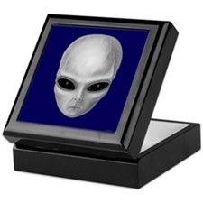 Alien Stare Keepsake Box