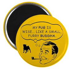 Pug Spiritual Leader Magnet
