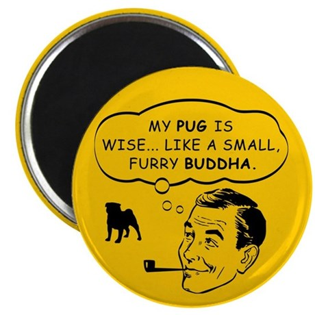 Pug Spiritual Leader Magnet