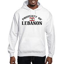 Property Of Lebanon Hoodie