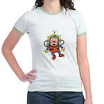 Space Monkey Jr. Ringer T-Shirt