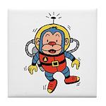 Space Monkey Tile Coaster